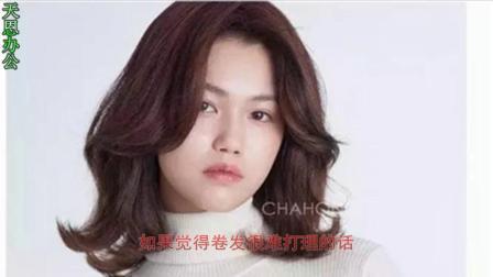 纠结长发or短发?圆脸、方脸女生这样选发型才最美!