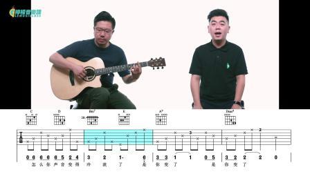 【柠檬音乐课】吉他弹唱教学《我真的受伤了》