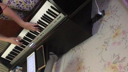 薛之谦《暧昧》唯美钢琴版_tan8.com
