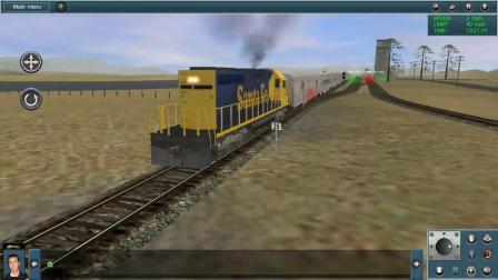 模拟火车手机版  美国难民铁路 (视频错误结束)