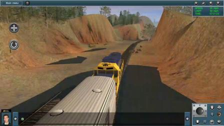 手机版模拟火车 美国难民铁路 (运输途中)