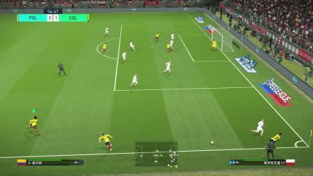 巴打Brother 实况足球2018解说 世界杯小组赛H组 波兰vs哥伦比亚