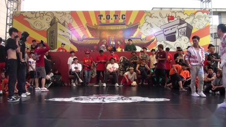 老人与海 vs BD CREW | 32-16 | Bboy 3on3 | 国门之巅 Vol.2