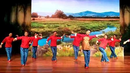 无锡教育电视台夕阳红老年大学海瑞舞蹈工作室室原创舞蹈(沂蒙红嫂)