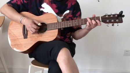 情深深雨蒙蒙插曲《Jambalaya》弗莱契尔36寸全桃花心旅行吉他V950SR-MINI