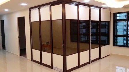 L-shaped Divider-Hall to Living Room