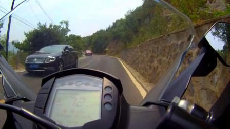 骑着KTM RC390兜一圈儿妙峰山