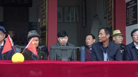 2018年三台柳林坝陈氏宗祠祠堂会1