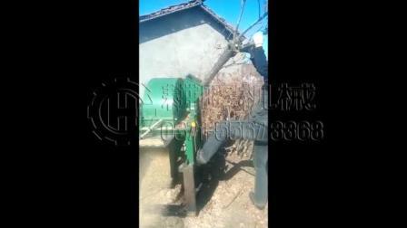 拖拉机带树枝粉碎机拖拉机动力树枝粉碎机