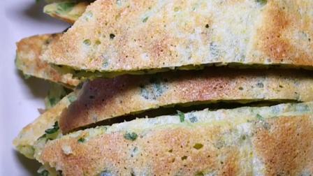 玉米葱花发面饼制作方法