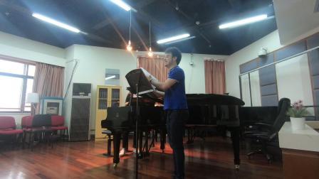 《四月之歌》钢琴系伴奏考试