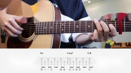 周杰伦《安静》吉他教程 #334