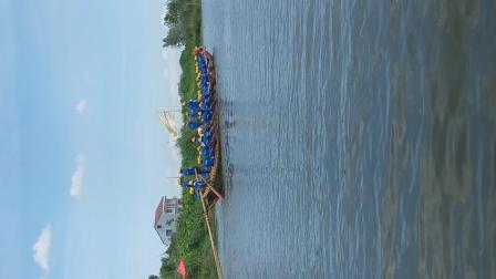 2018湖北省,荆州市监利县,周沟龙船大赛,(龙虾队赛船队员)