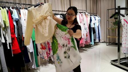 迪骊DILI 广州高端品牌女装折扣批发 最后145件秒杀清货