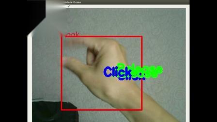 深视科技Cyclops单目摄像头手势识别