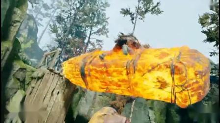《战神4》熔岩、寒冰山怪简单打法