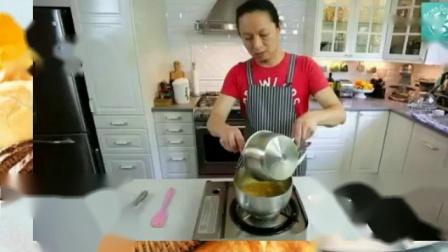高压锅怎么做蛋糕 自己做蛋糕需要什么材料 八寸戚风蛋糕的做法