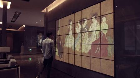 杭州触摸墙