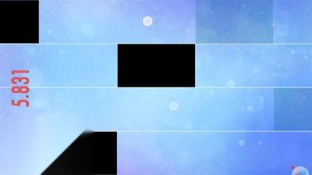 埃克斯激光【钢琴块2】ep4-单黑块挑战