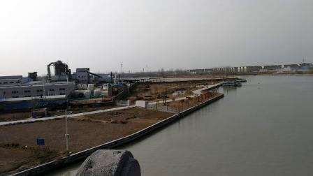 江苏省淮安市涟水县工业新区俯瞰一景