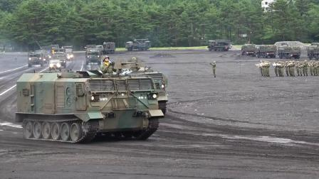 日本国富士驻屯地2018年7月8日阅兵