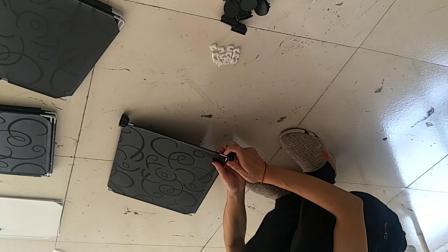 单排4层鞋柜组装视频