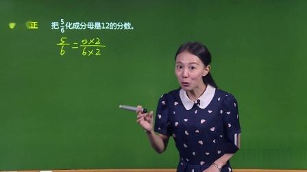 人教版-数学-基础版-五年级(下)-易巧-第4单元 分数的意义和性质-3. 分数的基本性质-2.教材知识全解2·易错题