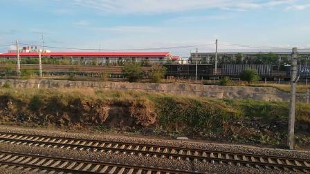呼包D21145牵引大列出集宁南站上集通线