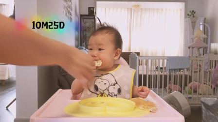 【朱耿耿日食记10M25D】早餐:花生酱面包