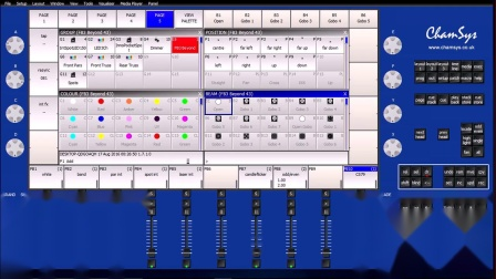 Control of lasers from lighting console - ChamSys and Pangolin BEYOND part 4