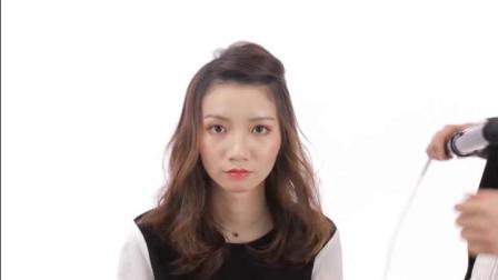 电棒造型基础入门黄辉6轻熟女动感长卷发