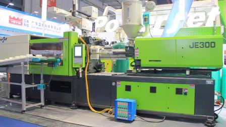 宝捷JE300全电动注塑机一出4生产750ml方形快餐盒