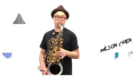 Tk薩克斯風「嘉俊專款次中音視頻」Wilson Chen Tenor Model