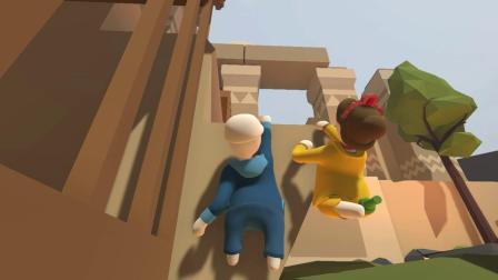 智障玩解密——《人类:一败涂地》01【zfs】&【草草】的游戏体验