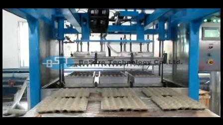 【必硕科技】产品视频——半自动蛋托生产设备 蛋托成型机