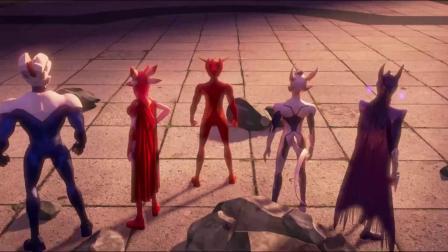 赛尔号大电影5:雷神崛起 《赛尔号大电影5:雷神崛起》  正邪巅峰对决 战神联盟捍卫正义