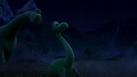 《恐龙当家》  父子温情玩萤火虫 画面温馨而梦幻