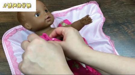 水宝宝专递娃娃娃娃解体喂养改变视频