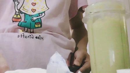 DIY牛油果香蕉牛奶冰激凌