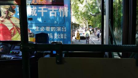杭州公交Y2(游2)线(灵隐~城站火车站)全程第一视角POV