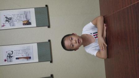 上海松江義利学堂——吕俊辰(6岁) 背诵四书之首《大学》之第1章节至第3章节