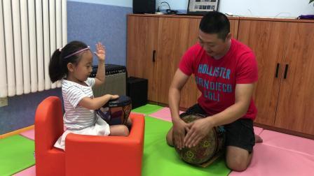 文鑫宝易-五岁学员第四节非洲鼓课