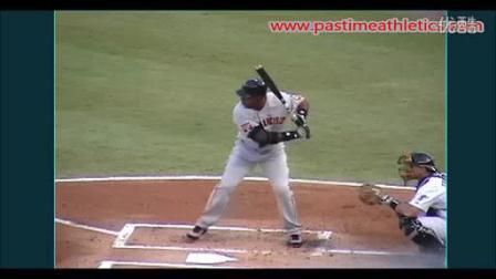 我在Barry Bonds Slow Motion Baseball Swing截了一段小视频