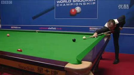 我在2012世锦赛第二轮 奥沙利文VS威廉姆斯 02 BBC高清版截了一段小视频