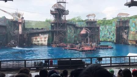 新加坡环球影城未来水世界表演完整版