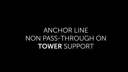 防坠落系统—Anchor line tower non pass-through