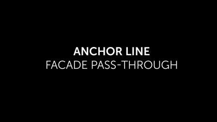 防坠落系统—Anchor line facade pass-through