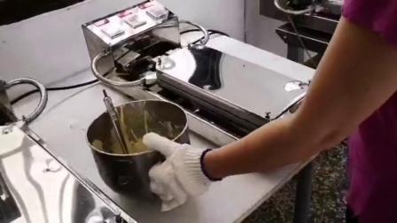如何做出8字蛋卷? 使用台湾盛谦蛋卷机