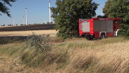 Großeinsatz der Feuerwehren im nördlichen Vorharz. - 07.07.2018 - YouTube