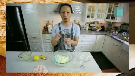 烘焙学校 蛋糕甜点培训学校 原味蛋糕的做法